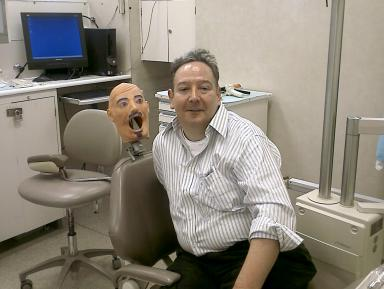 At the Dental Clinic with a New Friend