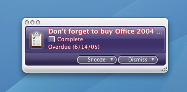 MS Office Message
